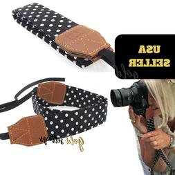 Retro Camera Strap Shoulder Neck Belt Strap  For Women SLR/D