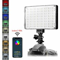 GVM RGB LED On Camera Video Photography Lighting Panel For D
