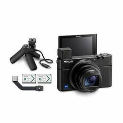 Sony RX100 VII Premium Compact Camera +Grip and 2 Batteries