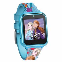 Frozen's 2 Elsa and Anna Kids Interactive Watch Blue