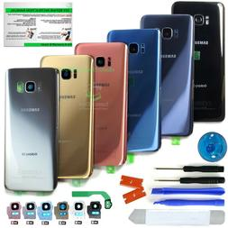 Back Glass Replacement Kit for Samsung Galaxy S8/S8+  w.CE+C