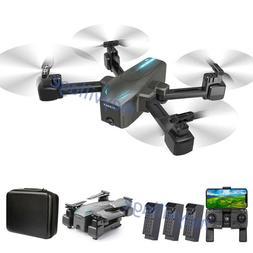 Selfie Drone 4K GPS HD Dual Camera 5G Foldable Aircraft RC Q
