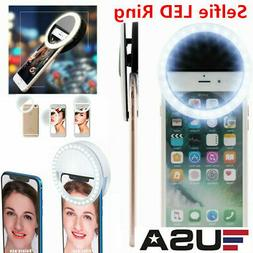 Selfie Portable LED Ring Light Flash Camera For Apple iPhone