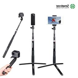 Smatree Selfie Stick with Tripod Stand for GoPro Hero 8/7/6/