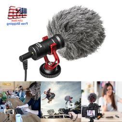 Shotgun Recording Camera Video Microphone for DSLR Camcorder