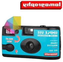 NEW Lomography Simple Use Film Camera Color Negative 400 ISO