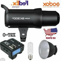 Godox SK300II 300W 2.4G Studio Flash Light + X2T-O Trigger F