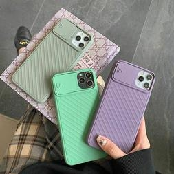 For iPhone 11 Pro Max XR XS 8 7Plus Slide Camera Cover Lens