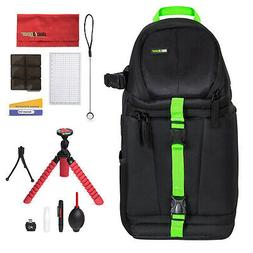 Deco Gear SB250B Sling Backpack Accessories Kit for DSLR and