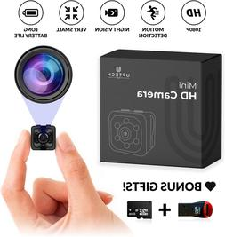Small Hidden Mini Spy Camera - Secret Tiny Spy Cam for Home