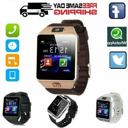 Smart Watch DZ09 Bluetooth Camera Phone GSM SIM For Android