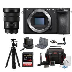 Sony Alpha a6500 Wi-Fi Digital Camera with  w/Sony SELP18105