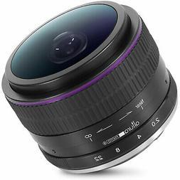 Sony E Mount Lens 6.5mm f/2.0 Wide Angle Circular Fisheye fo