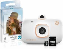 HP Sprocket 2-in-1 Portable Photo Printer & Instant Camera B