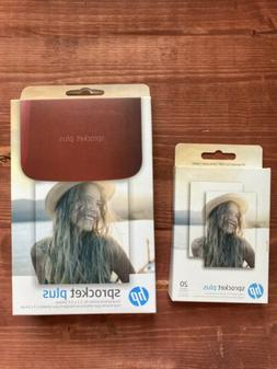 HP Sprocket Plus Instant Printer  Plus Extra Cartridge Of Pa