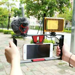 Cell Phone Stabilizer Rig Video Camera Cage Film Making for