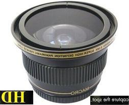 Super Wide Hi Def Fisheye Lens for Pentax K1000 K-1000