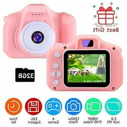 TekHome 2020 Toddler Toys for 3 Year Old Girls   1080P Digit