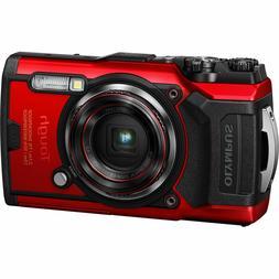 tough tg 6 waterproof digital camera red