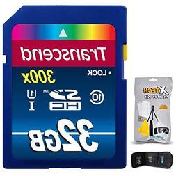 Transcend 32GB High-Speed Memory Card + KIT for FUJI FinePix