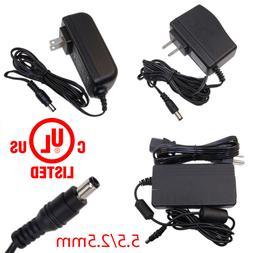 UL Power Supply Adapter AC/DC 12V 0.5A/1A/2A/3A/4A/5A for Se