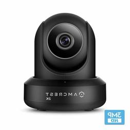 Amcrest UltraHD 2K 3MP IP3M-941B 90°WiFi Video Monitor Secu