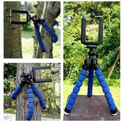 Universal Adjustable Octopus Tripod stand Phone Holder for i