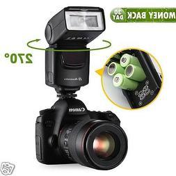 Universal Camera Flash Light Speedlite For Canon EOS Rebel &