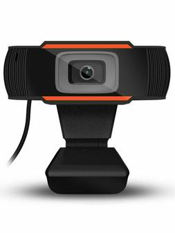 Upgrade HD Webcam USB Computer Web Camera for PC Laptop Desk