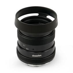 US Pergear 50mm F1.8 Manual Lens for Olympus Panasonic MFT M