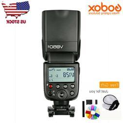 Godox V850II 2.4G Flash Speedlite Build-in Battery for Canon