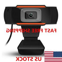 USB 2.0 HD 720P Webcam Camera for Computer PC Laptop Video M