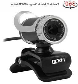 USB Computer Camera PC Laptop Desktop HD Webcam with Microph