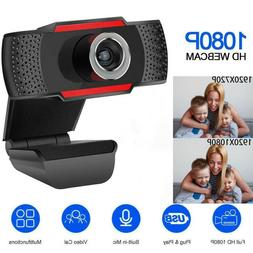 USB Web Camera 1080P 360°Webcam with Microphone and speaker