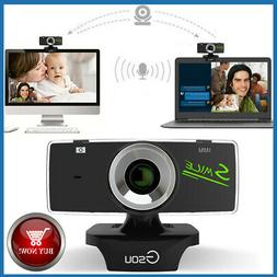 USB2.0 HD Webcam Camera Web Cam With Mic For Computer PC Lap