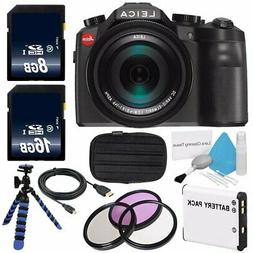 Leica V-LUX  Digital Camera Starter Bundle 22