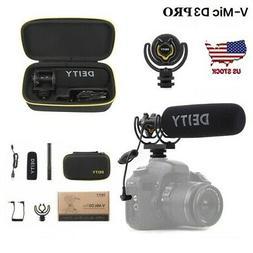 Deity V-Mic D3 Pro Broadcast Supercardioid On-Camera Shotgun