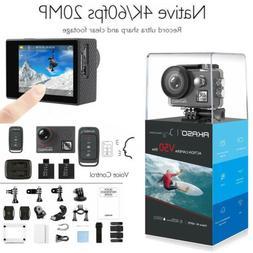 Akaso V50 Elite Native 4K/60fps 20MP 4K Action Camera Touch