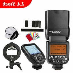 Godox V860II-C Camera Flash Speedlite Xpro-C Trigger Bowen B