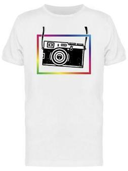 Vintage Camera, Color Frame Tee Men's -Image by Shutterstock