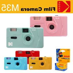 Kodak Vintage retro M35 35mm Reusable Flash Film Camera+ Kod