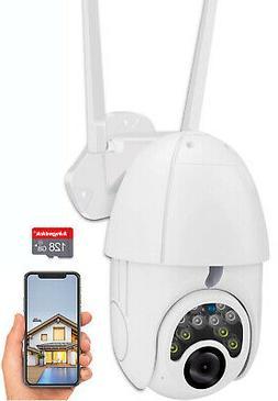 Waterproof Outdoor WiFi PTZ 1080P HD Home Security Wireless