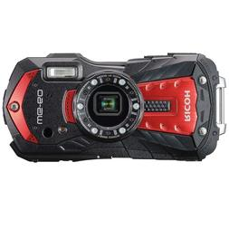 RICOH Waterproof Shockproof Digital Camera WG-60 Red EMS w/