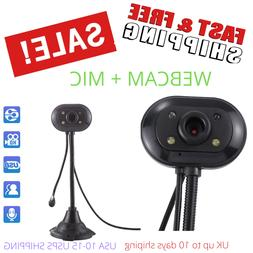 Webcam With Microphone For Desktop Windows 10 Pc Computer 2.