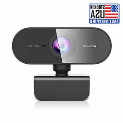 Webcam with Microphone Full HD 1080P Streaming Camera for PC