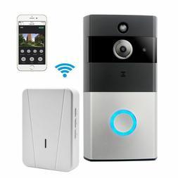 WIFI Video Doorbell, Smart Doorbell 720P HD Security Camera