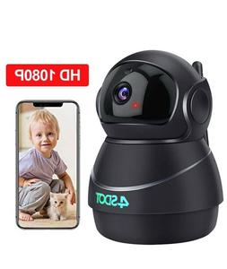 Wifi Wireless Security Camera - black color 1080P baby camer