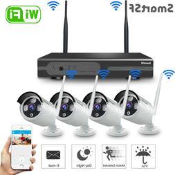 SmartSF 8CH Wireless 1080P NVR Outdoor Home WIFI Camera CCTV