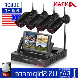 ANRAN Wireless Home Security Camera System Outdoor WIFI CCTV