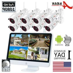 ANRAN Wireless Security Camera System Outdoor WiFi 8CH NVR 1